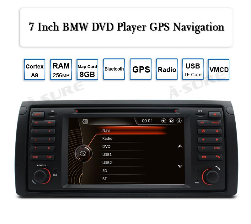 For BMW E39 M5 5 Series Car DVD GPS Player Sat Nav Stereo