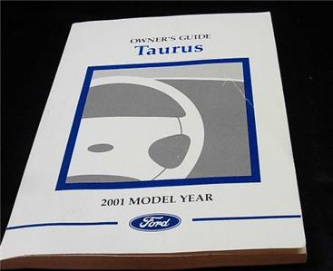 details about 2001 ford taurus owners manual other items no reserve rh ebay com 2001 taurus owners manual pdf 2001 ford taurus service manual free download