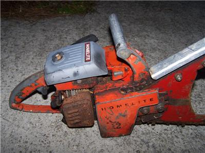 Homelite chainsaw parts on Shoppinder
