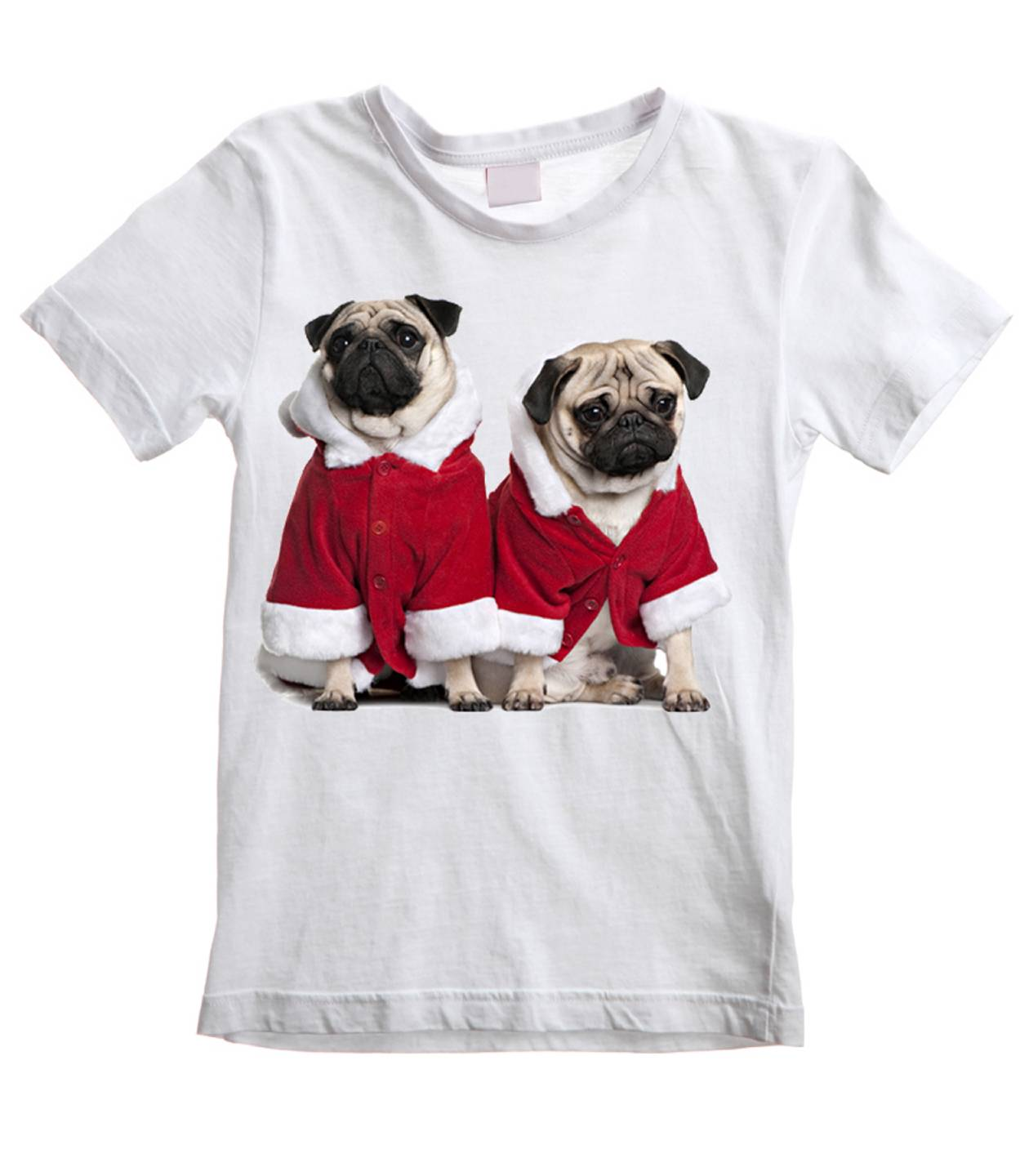 pug shirts for kids pug dog santa claus kids t shirt pugs christmas present 9603