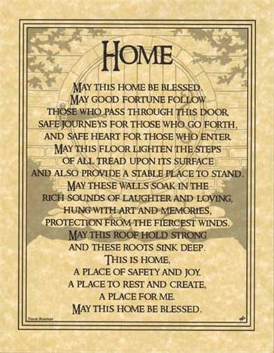 house home blessing parchment page for book of shadows altar ebay