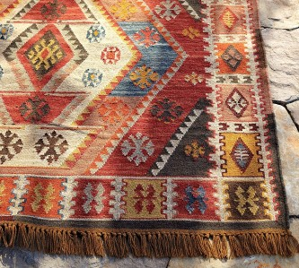 Pottery Barn Gianna Kilim Indoor Outdoor Rug 3 X5 New Ebay