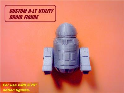 Custom Star Wars DD-BD ADMINMECH DROID Figure solo kessel tatooine