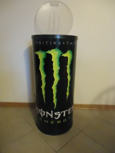 Large Monster Energy Drink Cooler W Wheels New Ebay