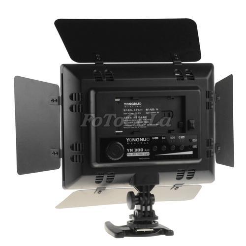 YN300 300 LED Lamp Light F Camera Video Camcorder DV IR Remote Dimmer Grip