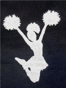 Cheer Team Gemline Select Zippered Tote Cheerleader Cheering Squad Monogram Bag
