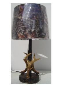 Mossy Oak Mossey Oak Deer Antler Accent Lamp Ebay