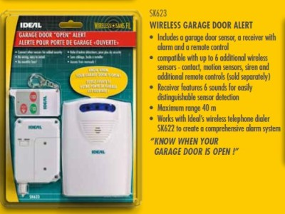 Ideal Security Wireless Garage Door Alert Sk623 Alarm