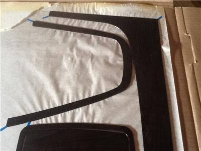 Fits 2005 09 Hyundai Tucson Black Cherry Wood Finish Dash Accent Kit