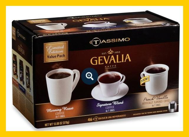 Gevalia Variety Pack 46 T-discs for Tassimo | eBay