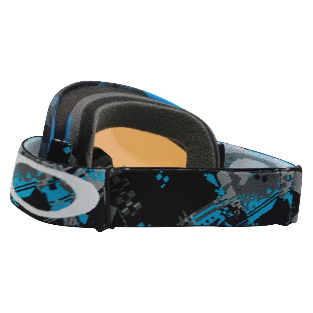 0945ce3a0b0 Oakley 57-071 XS O FRAME Shattered Blue Grey Persimmon Youth Snow ...
