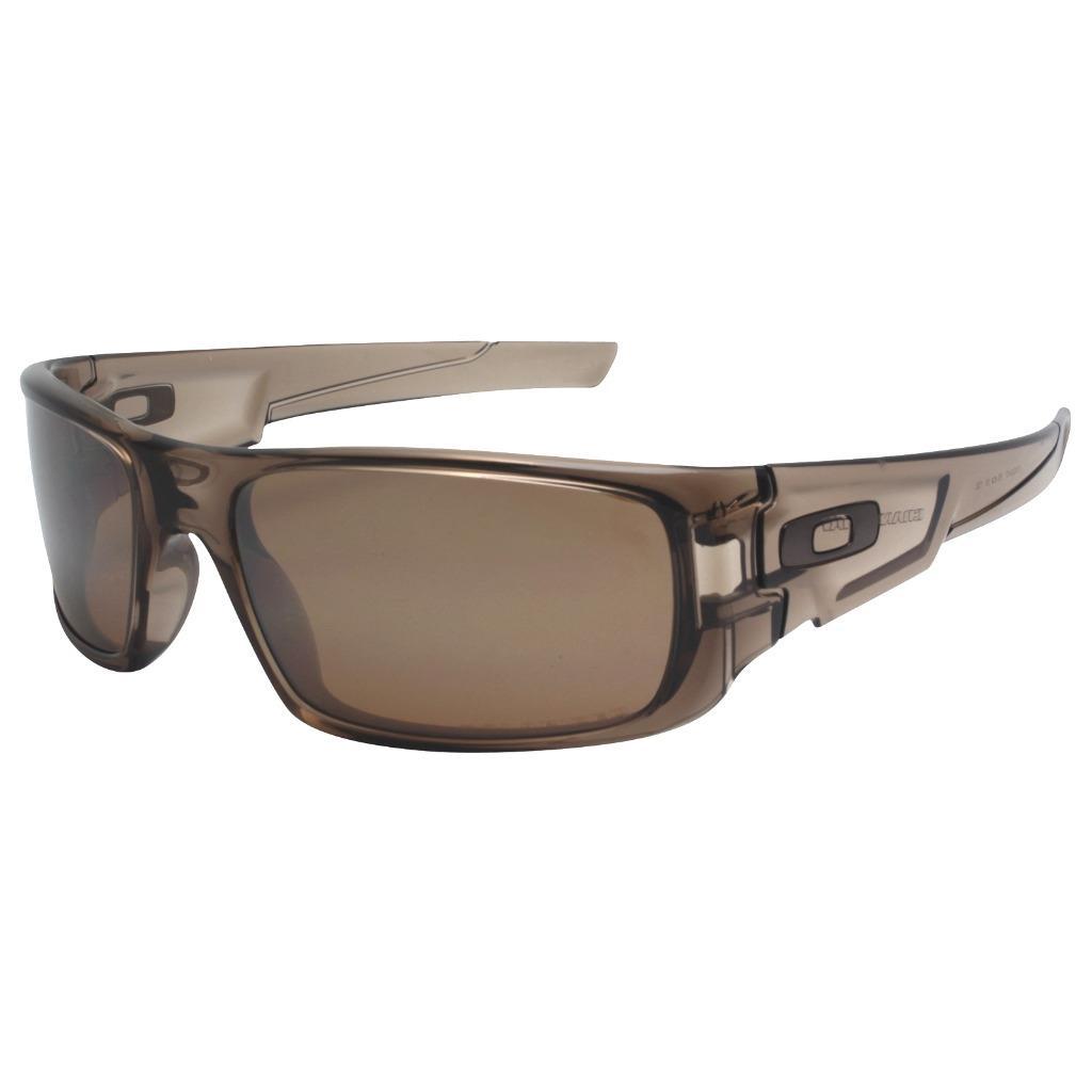 21bcf041fd Details about Oakley OO 9239-07 POLARIZED CRANKSHAFT Brown Smoke Tungsten  Iridium Sunglasses .
