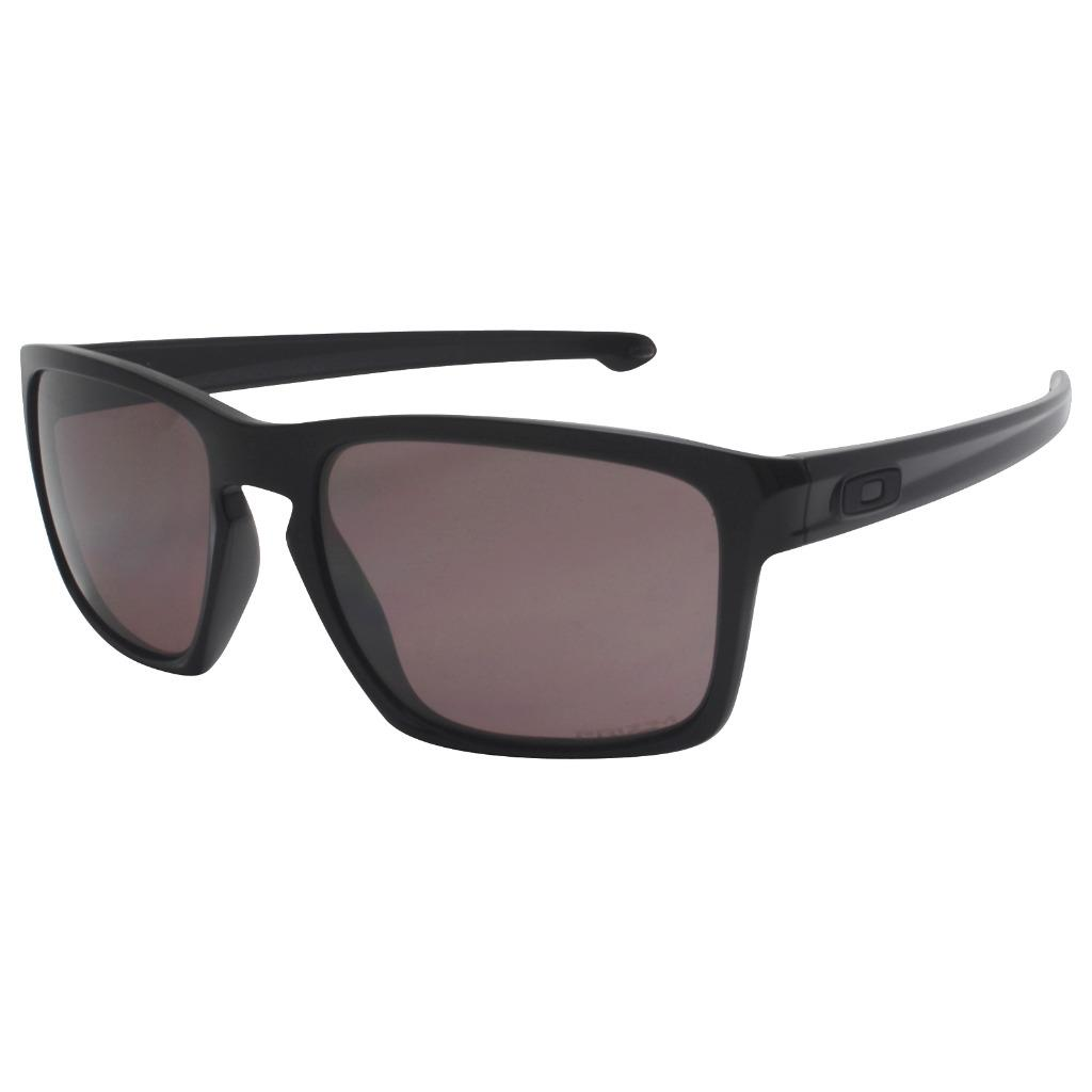 2f9b0798c9 Details about Oakley OO 9262-07 POLARIZED SLIVER Polished Black Prizm Daily  Mens Sunglasses .
