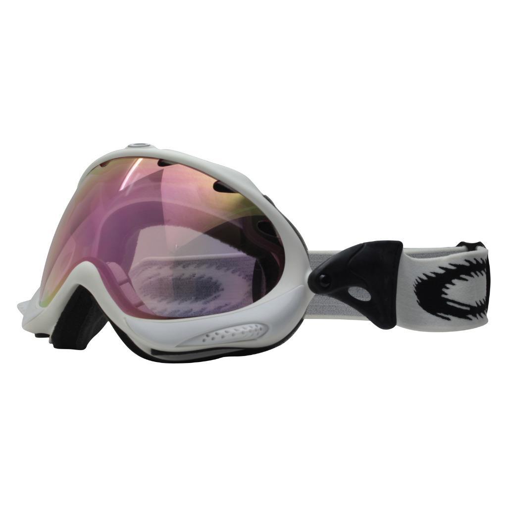 4125d4d0674 Description. Oakley Wisdom Snow Goggles Brand  Oakley Model  Wisdom SKU  02- 732. Frame  Matte White Lens  Pink Iridium