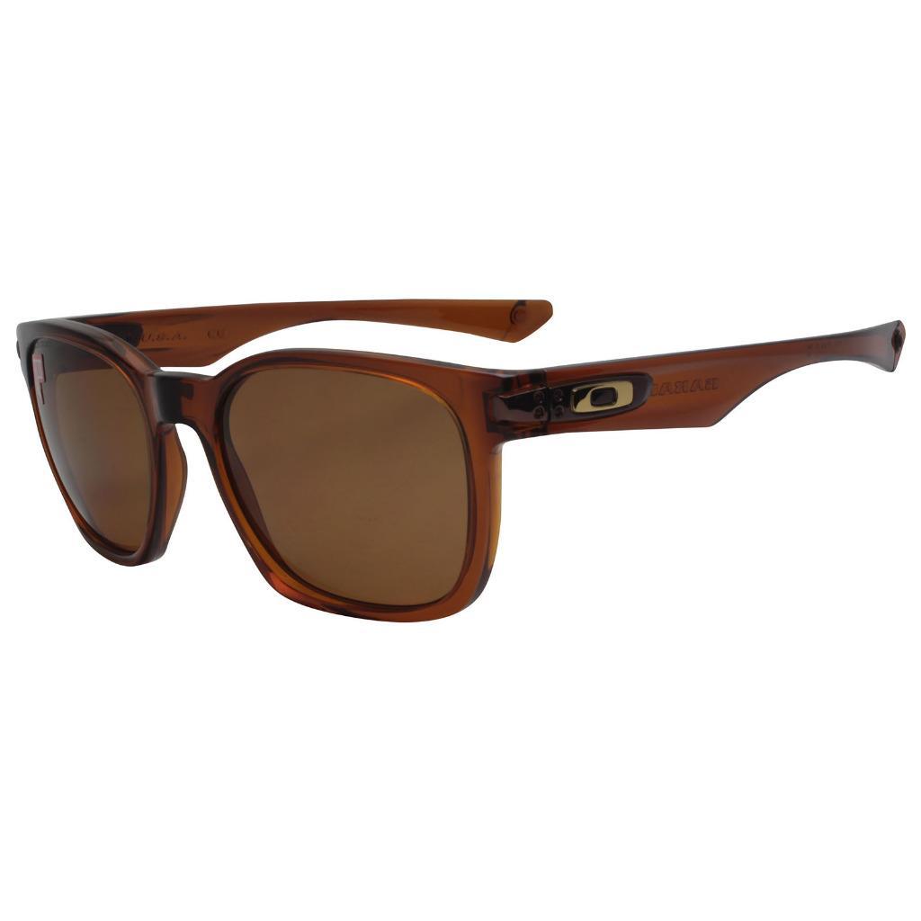 a8e0a70a635 Details about Oakley OO 9175-06 Polarized Garage Rock Dark Amber w Bronze  Lens Mens Sunglasses