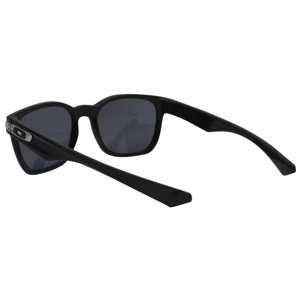 058a3d417d7fa Oakley OO 9175-01 GARAGE ROCK Polished Black Frame Grey Lens Mens ...