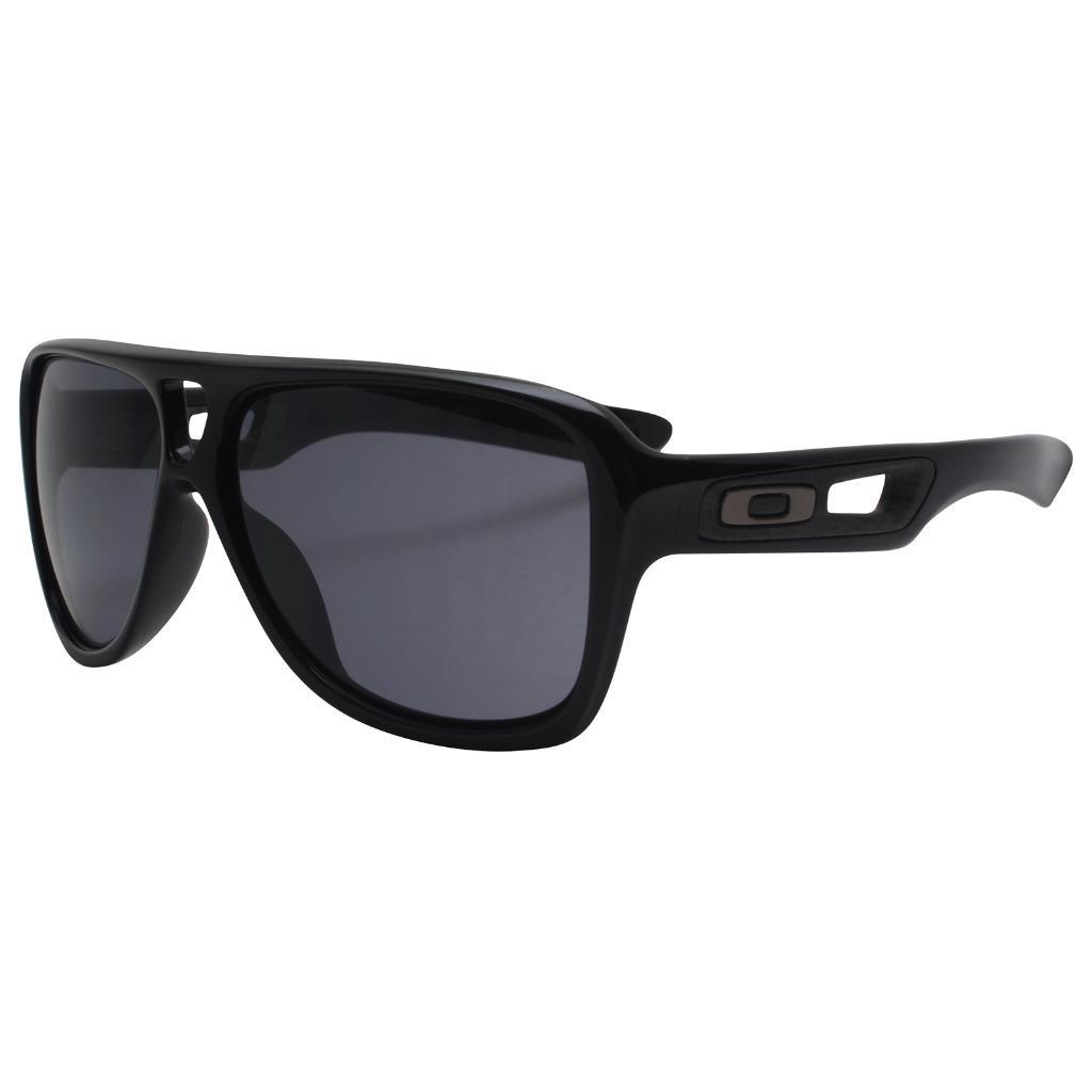 Details about Oakley OO 9150-01 DISPATCH II 2 Polished Black Grey Mens  Sport Sunglasses . d7cff2a6f0