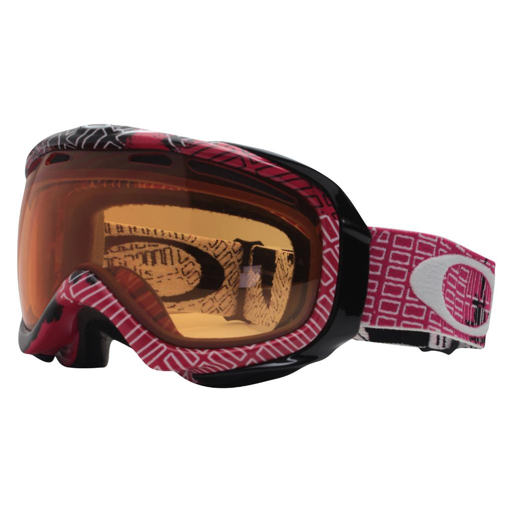 6cd89a7a1e Details about Oakley 57-195 ELEVATE Cinder Block Lava w  Persimmon Womens  Snow Ski Goggles .