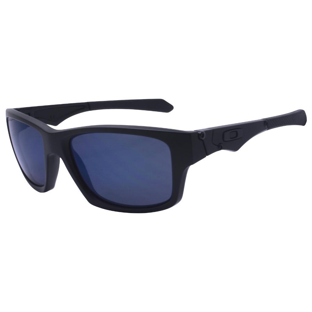 7f3fd1573d Oakley Custom JUPITER SQUARED Matte Black w  Ice Iridium Mens Rare ...