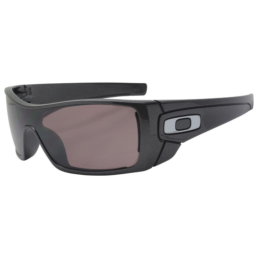 193311f8d6a Details about Oakley OO 9101-5527 POLARIZED BATWOLF Granite Prizm Daily  Lens Mens Sunglasses