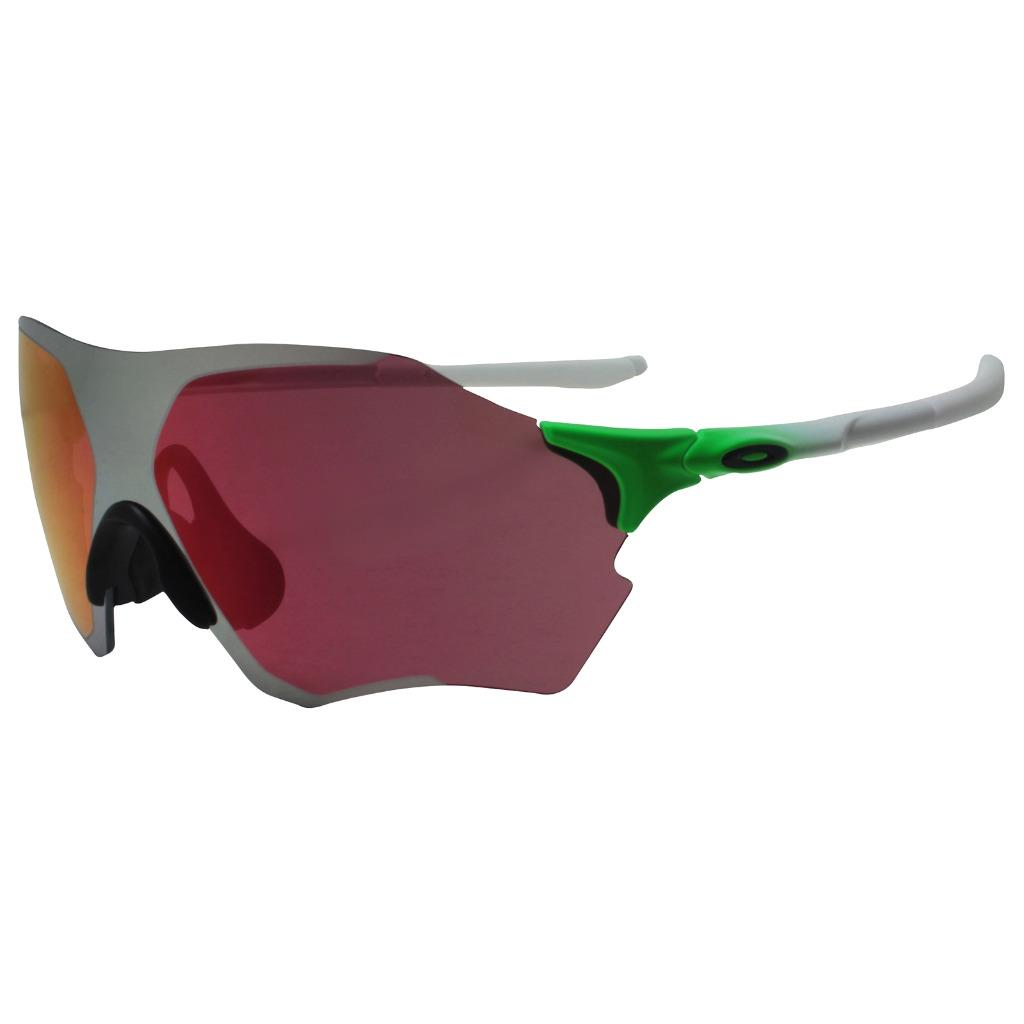 41a5d321e880 Details about Oakley OO 9327-09 EVZERO RANGE Green Fade w/ Prizm Field  Chrome Lens Sunglasses