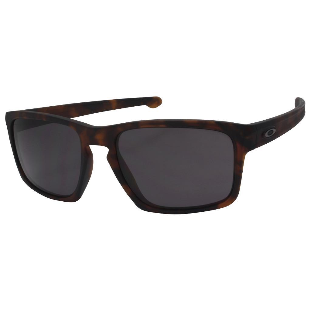 71c37d7272 Details about Oakley OO 9262-03 SLIVER Matte Brown Tortoise w  Warm Grey  Lens Mens Sunglasses