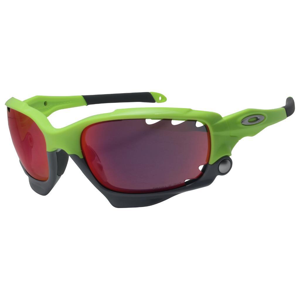 b2fb5c23ec5 Details about Oakley OO 9171-39 Racing Jacket Retina Burn Prizm Road Lens  Sports Sunglasses .