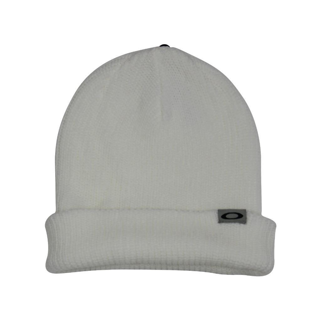 Details about Oakley BARROW Beanie White Knit Mens Boys Womens Girls Warm  Winter Knitted Hat 45c81d072d8
