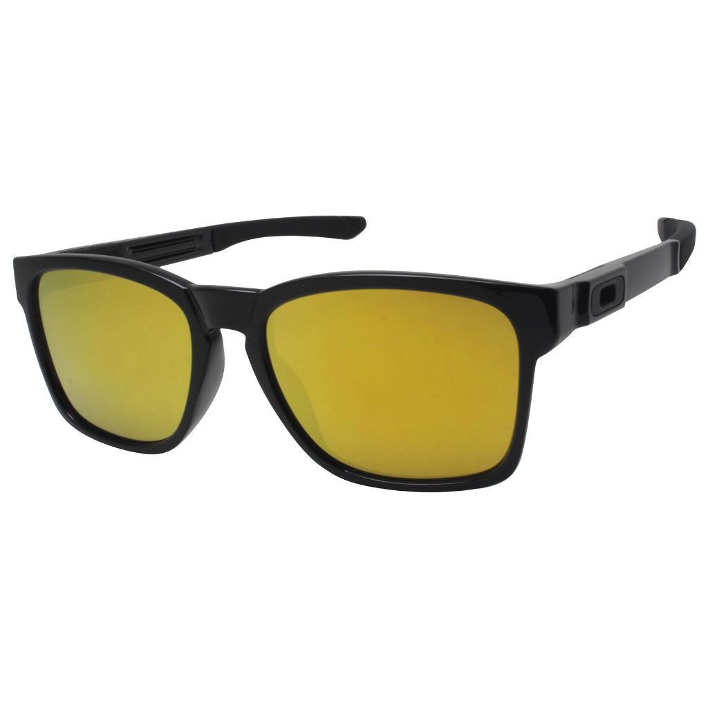 Details about Oakley OO 9272-04 CATALYST Polished Black 24K Iridium Mens  Sports Sunglasses New d7a05448dd