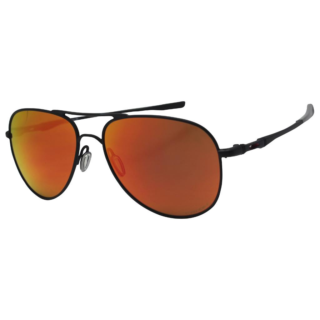 920faa8dc96 Details about Oakley OO 4119-1358 ELMONT M Satin Black w  Prizm Ruby Mens  Womens Sunglasses