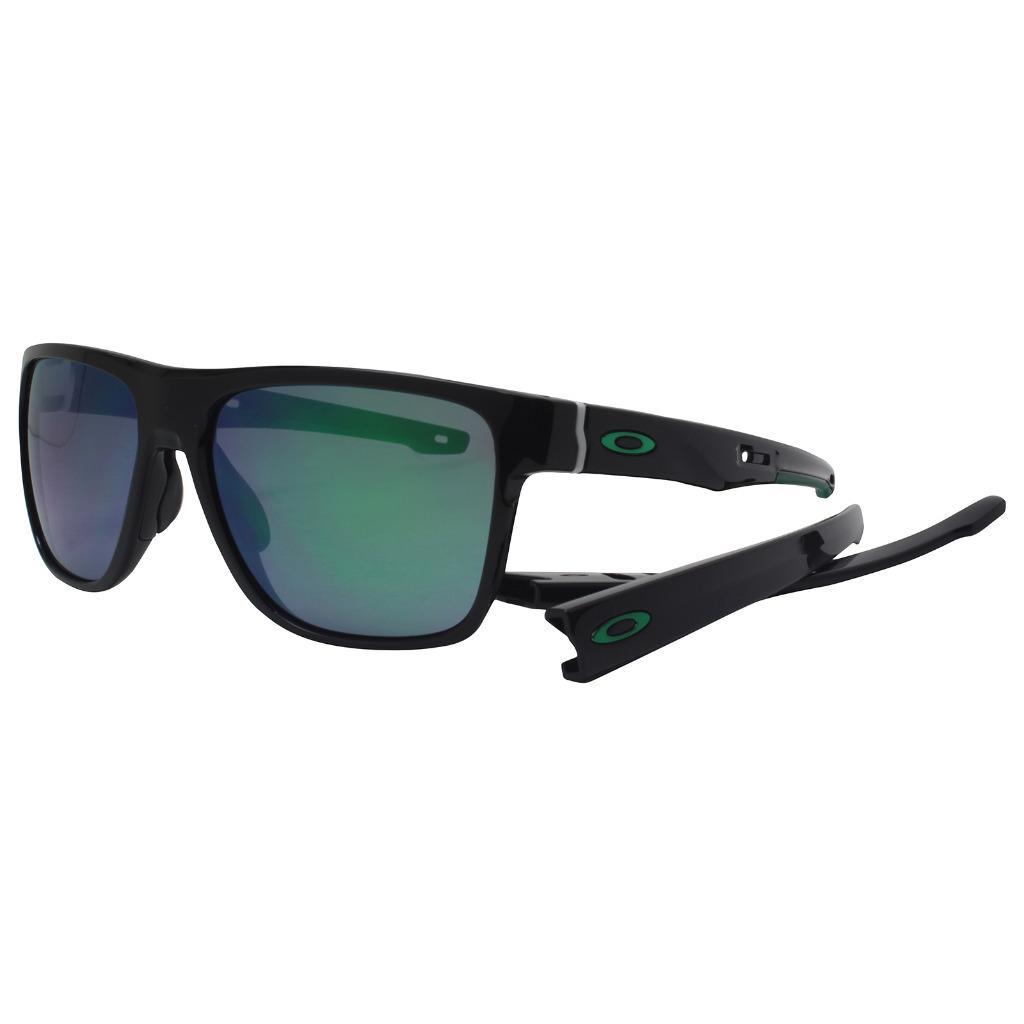 2256ef56cf0 Oakley OO 9360-0258 CROSSRANGE XL Polished Black w  Jade Iridium ...