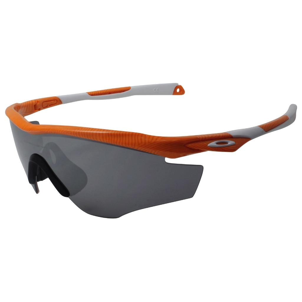 446d72a399 Oakley OO 9212-18 FINGERPRINT M2 FRAME Atomic Orange Black Iridium ...