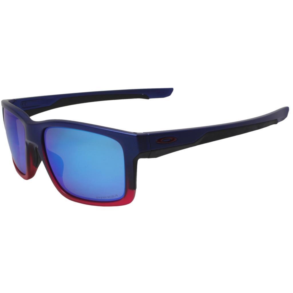 740c96ad8e5 Details about Oakley OO 9264-3257 MAINLINK Blue Pop Fade w  Prizm Sapphire  Mens Sunglasses