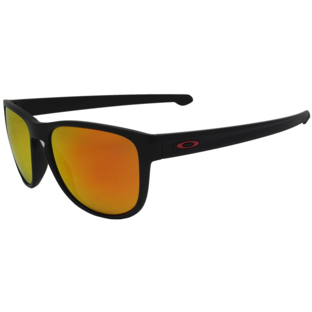 56230893e7 Details about Oakley OO 9342-15 SLIVER R MOTO GP Matte Black w  Prizm Ruby  Mens Sunglasses