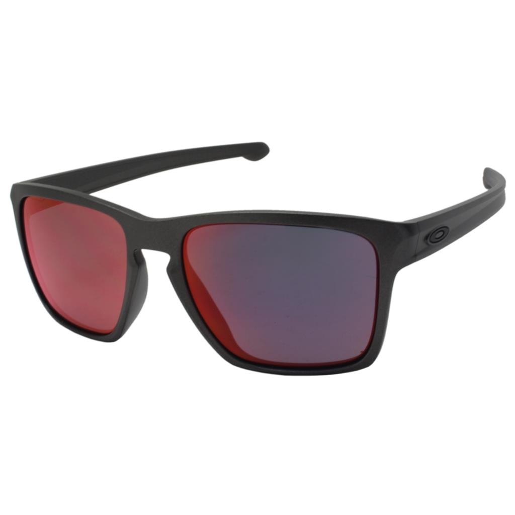 680af639e Details about Oakley OO 9346-07 SLIVER XL Asian Fit Lead Frame Torch  Iridium Mens Sunglasses