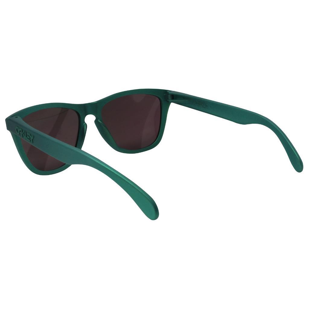 2b18042422 Oakley OO 9013-C655 FROGSKINS Gamma Green PRIZM Jade Iridium Mens ...