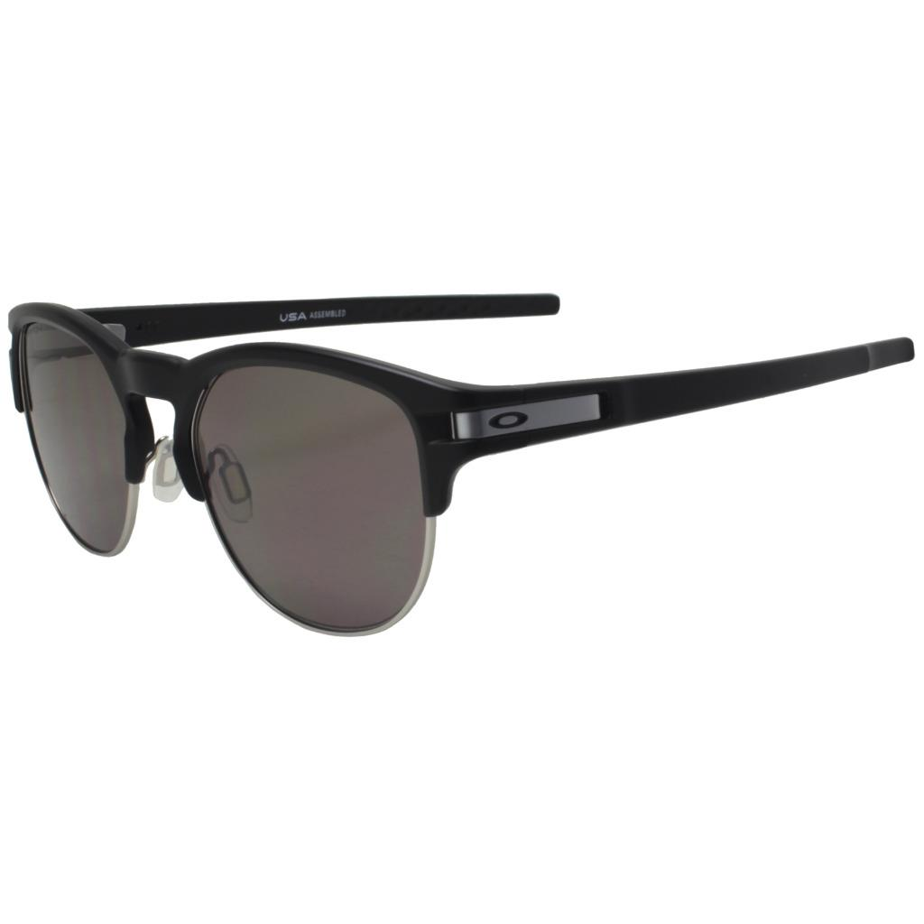 Details about Oakley OO 9394-0155 LATCH KEY Matte Black Prizm Grey Lens  Mens Unisex Sunglasses f928f505a7