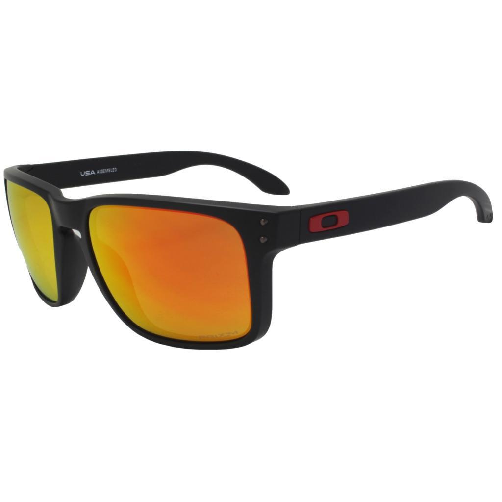 130e9c9b2d Details about Oakley OO 9417-0459 HOLBROOK XL Matte Black w  Prizm Ruby  Lens Mens Sunglasses .