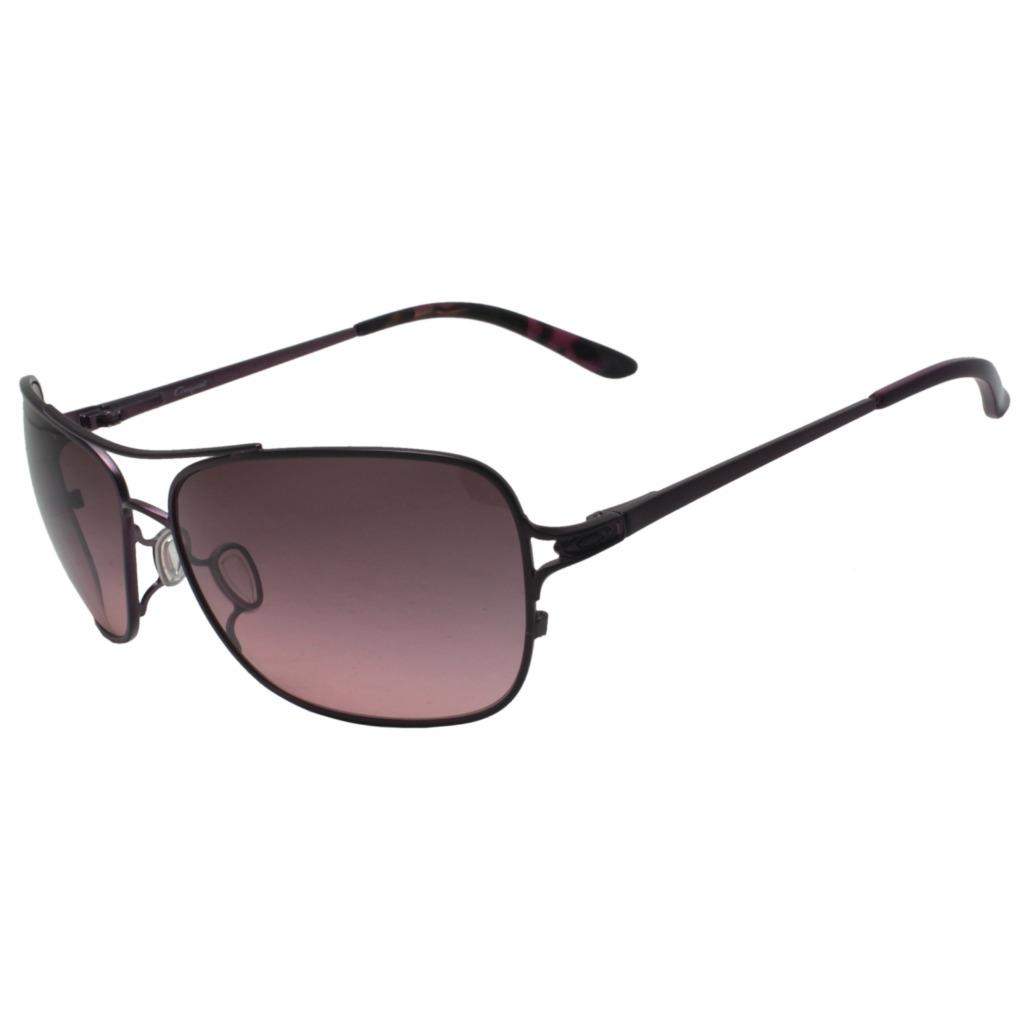 a9eb6180ca Details about Oakley OO 4101-05 CONQUEST Blackberry w  G40 Black Gradient  Womens Sunglasses .