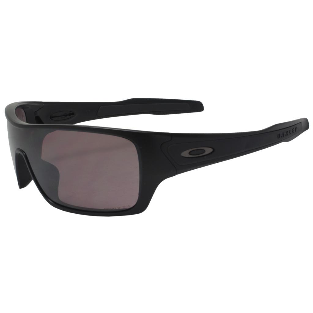 9a7ba81998d46 Details about Oakley OO 9307-07 POLARIZED TURBINE ROTOR Matte Black Prizm  Daily Sunglasses