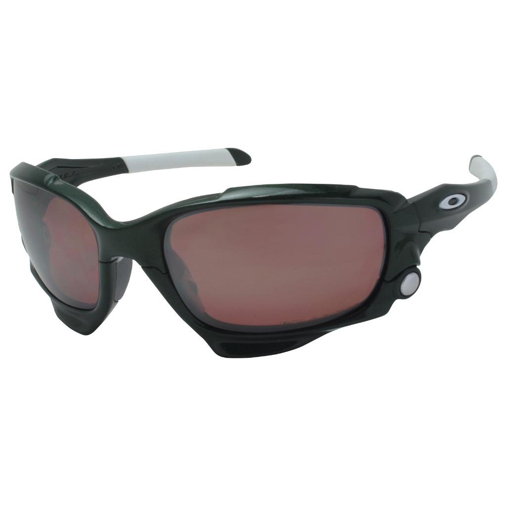 e97f144aa8 Details about Oakley Custom POLARIZED JAWBONE Team Dark Green VR28 Black  Iridium Sunglasses .