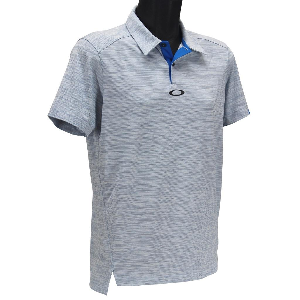 28b10d1544 Oakley Gravity Polo Mens Size S Small Ozone Blue Golf Tailored Fit ...