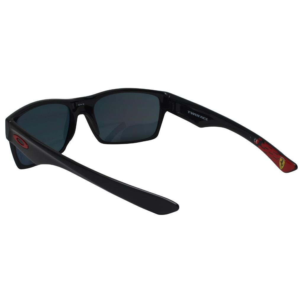 6c99411849 Oakley OO 9189-36 Twoface Ferrari Collection Black w  Ruby Iridium ...