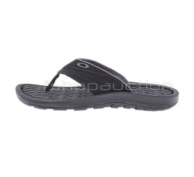 7ddaf87b53 Oakley Lowball 2 Black Size 10 US 41 Mens Sandals Thongs New in Box ...