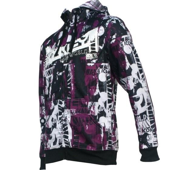 Oakley Sold Out Helio Size S Mens Boys Purple Black Hoodie ...