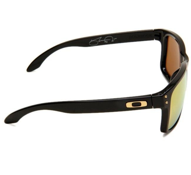 83f0a17c0d315 Oakley Holbrook Shaun White Signature Polished Black 24k Iridium ...