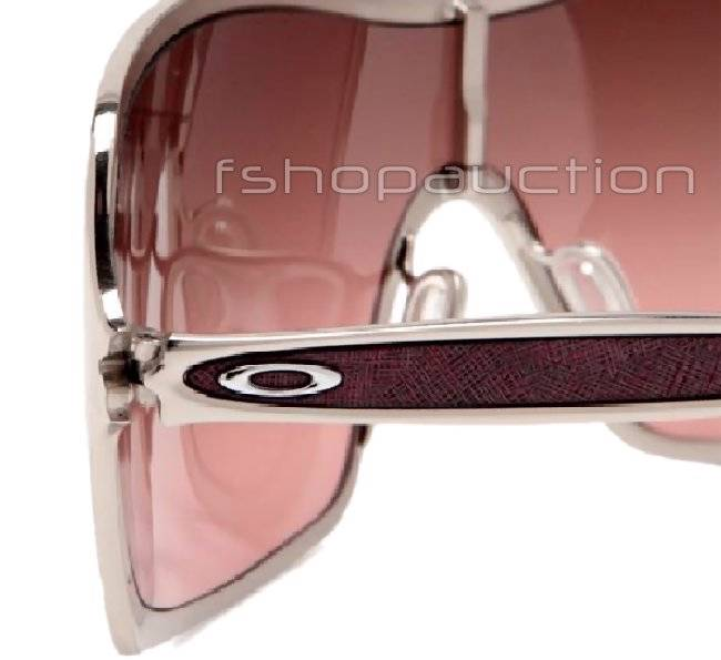6a250c1d1f Oakley OO 4053-04 REMEDY Polished Chrome G40 Black Gradient Womens  Sunglasses