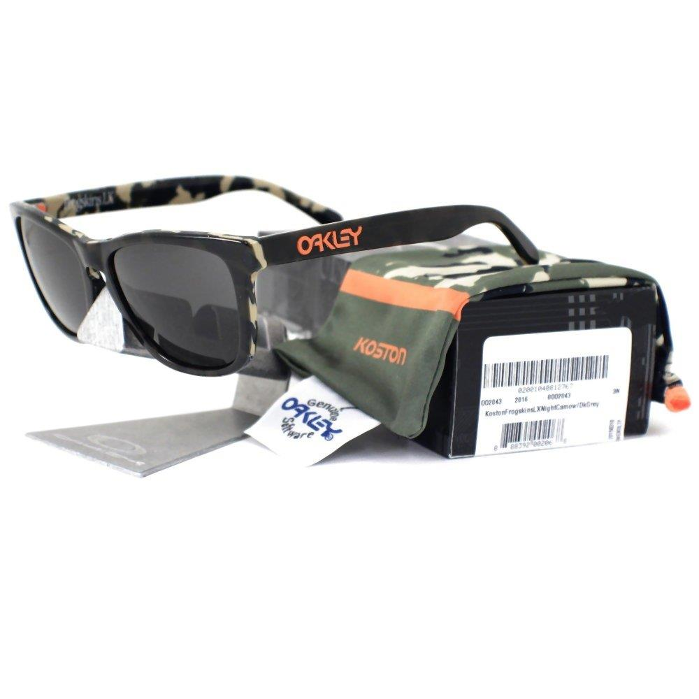 5fa3c3b885 Details about Oakley OO 2043-13 ERIC KOSTON FROGSKINS LX Night Camo Dark  Grey Mens Sunglasses