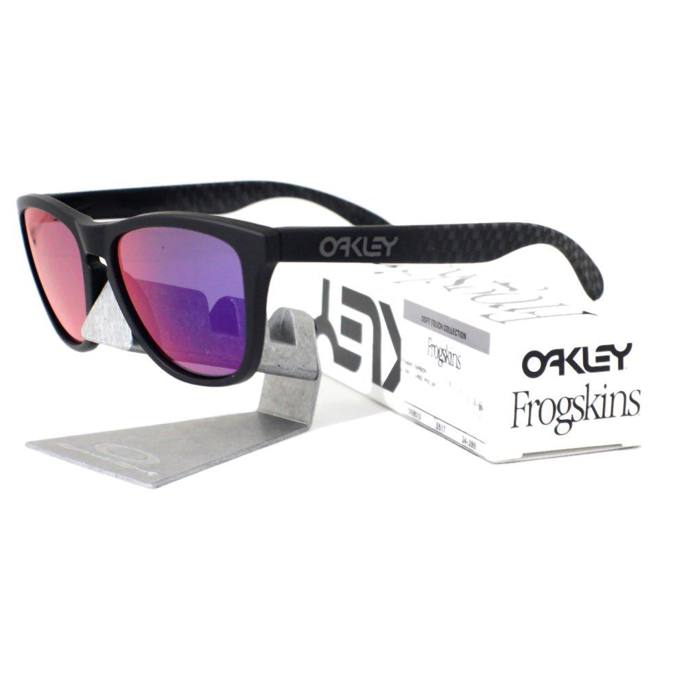 41eff13b5aa Oakley Irregular Dark Red Frame Sunglasses « One More Soul