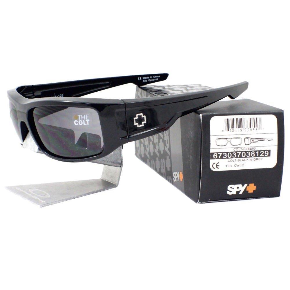 e4b7c4f51688 Spy 673037038129 COLT CLBS00 Black Frame Grey Lens Mens Sports ...